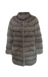 Grey Mink Coat