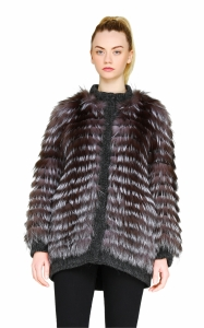 Reversible Silver Fox Jacket
