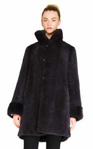 Blue Reversible Rex Coat