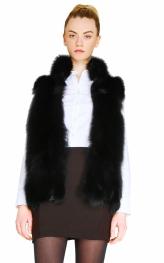 Black Fox Vest