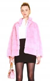 Pink Mink Jacket