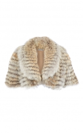 Coyote Fur Cropped Jacket