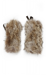 Natural Coyote Leg Warmers