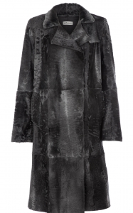 Grey Swakara Coat