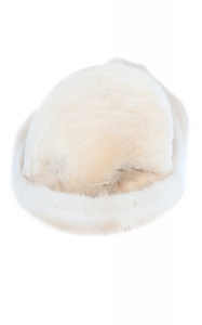 Golden Mink Aviator Hat