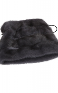 Cossack Hat in Dark Grey Mink