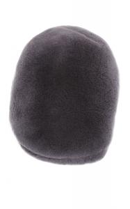 Beret Hat in Grey sheared Mink