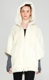 Rex Rabbit Poncho Coat