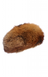 Red Fox Pillbox Hat