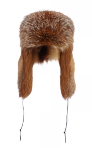 Red Fox Aviator Hat