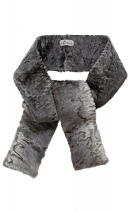 Grey Swakara Scarf